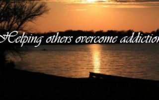 Helping others overcome addiction