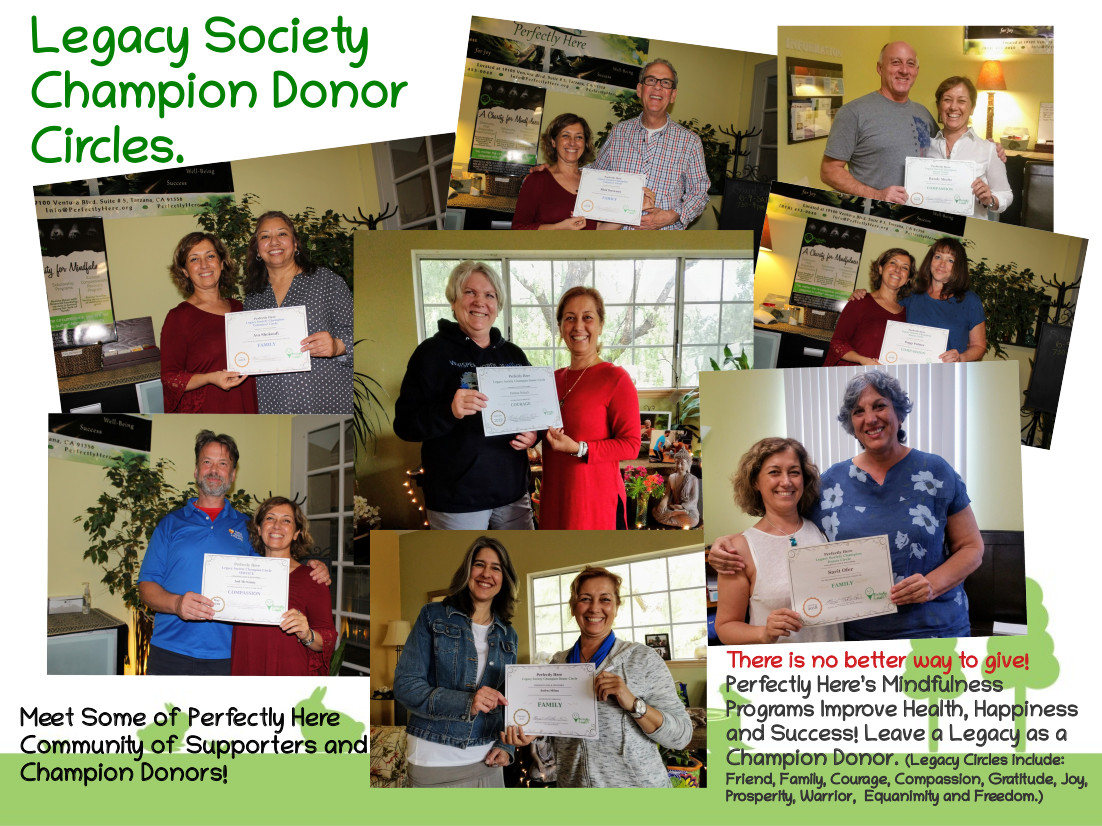 Donations, Legacy Society