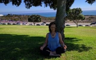 Manijeh Meditating